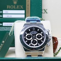 Rolex Daytona 116520 black dial, steel. NEW