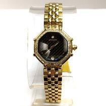 Gérald Genta Success 18k Yellow Gold Ladies Watch W/ Factory...