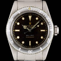 Rolex Submariner Big Crown Tropical Gilt Dial NCG Steel