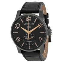 Montblanc Men's 106066 Timewalker GMT Black Dial Auto  Watch