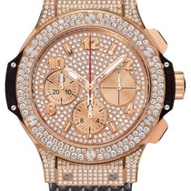 Hublot Big Bang Gold 41mm Dial Diamods Automatic Men's Watch