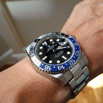 Rolex GMT-Master II Blu-Black Bazel