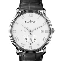 Blancpain Men's 6606112755B Villeret Small Seconds Watch