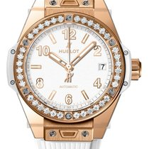 Hublot Big Bang One Click King Gold White Diamonds