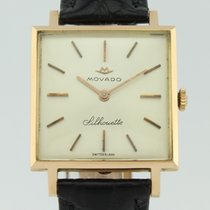 Movado Vintage Silhouette Manual Winding 18k Gold