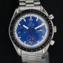Omega Speedmaster Reduced blue