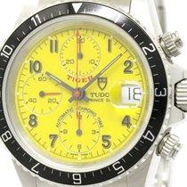 튜더 (Tudor) Polished  Chrono Time Prince Date Tiger Automatic...