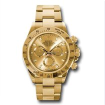 Rolex 116508 Cosmograph Daytona 18K Yellow Gold Unisex Watch