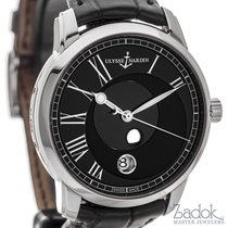 Ulysse Nardin Classico Luna 40mm Automatic Watch 8293-122-2/42...