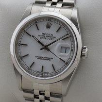 Rolex OYSTER PERPETUAL DATEJUST EDELSTAHL MINT