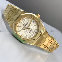 Audemars Piguet - Royal Oak 15450BA.OO.1256BA.01 White Dial YG
