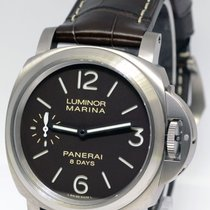 Panerai Luminor Marina 44mm 8 Days Titanium Watch Box/Papers...