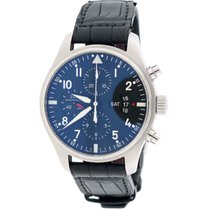 IWC Pilot's Fliegeruhr Chronograph Day-Date 43mm Black...