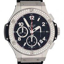 Hublot Big Bang Stahl Kautschuk Diamond 1,18ct Automatik...