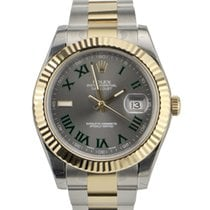 Rolex Datejust II 41mm  Fluted Bezel New With Stickers 116333