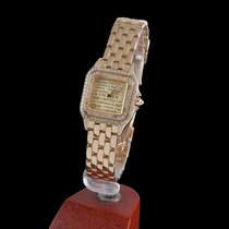 Cartier panthere yelow gold and diamonds