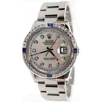 Rolex Datejust Men's Model 16200 Stainless Steel High...