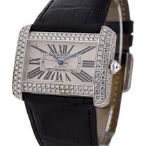 Cartier WA301170 Tank Divan Large Size with Factory Diamond...