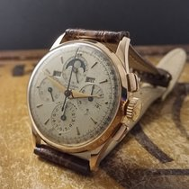 Universal Genève TRICOMPAX MOON PHASE CALENDAR CHRONOGRAPH 18K...