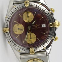 Breitling Chronomat Stahl / Gold mit UTC B13047