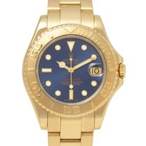 롤렉스 (Rolex) ヨットマスター 68628 ブルー文字盤 金無垢 ボーイズ W番 003271919