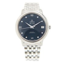 Omega De Ville Stainless Steel Blue Automatic 424.10.33.20.53.001
