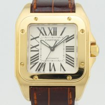 까르띠에 (Cartier) Santos Automatic 18K Gold 2880
