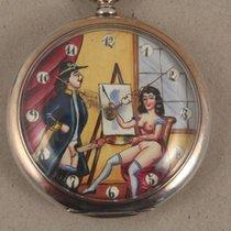Anonym antique erotic pocket watch