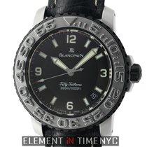블랑팡 (Blancpain) Fifty Fathoms Concept 2000 Steel 40mm Black...
