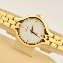 Carl F. Bucherer Women's  Q 18k Yellow Gold White Diamond...