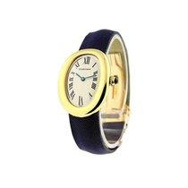 Cartier W1506056 Baignoire Quartz in Yellow Gold - on Strap...