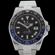 Rolex GMT-Master II Batman Stainless Steel Gents 116710BLNR -...