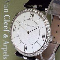 Van Cleef & Arpels Pierre 18k Gold & Diamond 42mm...