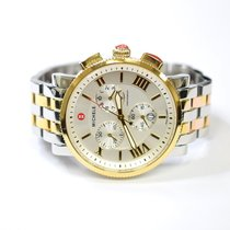 Michele Sport Sail Chronograph 42mm Stainless Steel & 18K...