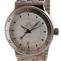 Temption CM03 White Automatik GMT Date 42mm Neu
