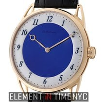 De Bethune 18k Rose Gold Midnight Blue Dial 44mm