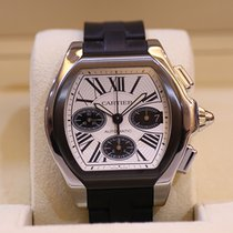 卡地亚 (Cartier) Cartier卡地亞 ROADSTER S計時碼錶 W6206020