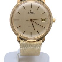 Omega De Ville Vintage Yellow Gold Mens Watch 14 krt (34 mm)