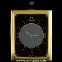 Omega 18k Y/G Ultra Thin La Magique Mystery Vintage Pendant Clock