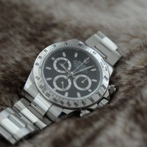Rolex Daytona Steel Black Dial