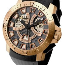 Pierre Kunz Sport Spirit of Challenge 18K Rose Gold Men's...
