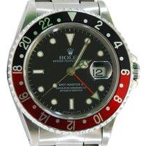 """Rolex GMT-Master II Stainless Steel """"Coke"""" Bezel - 16710"""
