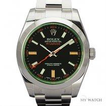 ロレックス (Rolex) Rolex Milgauss Green Sapphire Glass 116400GV (NEW)