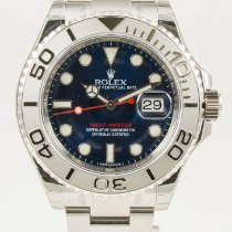 Rolex Yacht-Master Stainless Steel Blue Dial Mens 40mm 116622 NEW