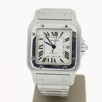 Cartier Santos Steel NEWLOCK Automatic.29mm (BOX2007) WhiteRom...