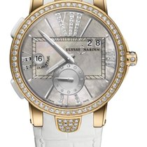 Ulysse Nardin EXECURIVE DUAL TIME LADY Pink Gold Motherpearl...