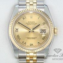 Rolex Datejust 116233 Stahl Gelbgold 750 Automatik 36 mm