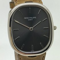 Patek Philippe Golden Ellipse Mens 18K White Gold Watch