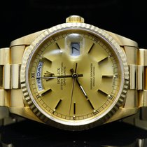 Rolex 1990 18ct Yellow Gold Day-Date, 18238,  MINT, Boxed