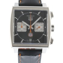 TAG Heuer Monaco Limited Edition CAW211K Watch with Leather...